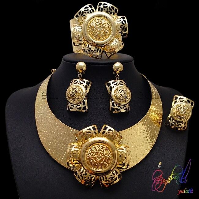 Свадебные украшения kundan наборы свинец и никель безопасной ювелирные изделия комплект золотое покрытие ювелирных изделий