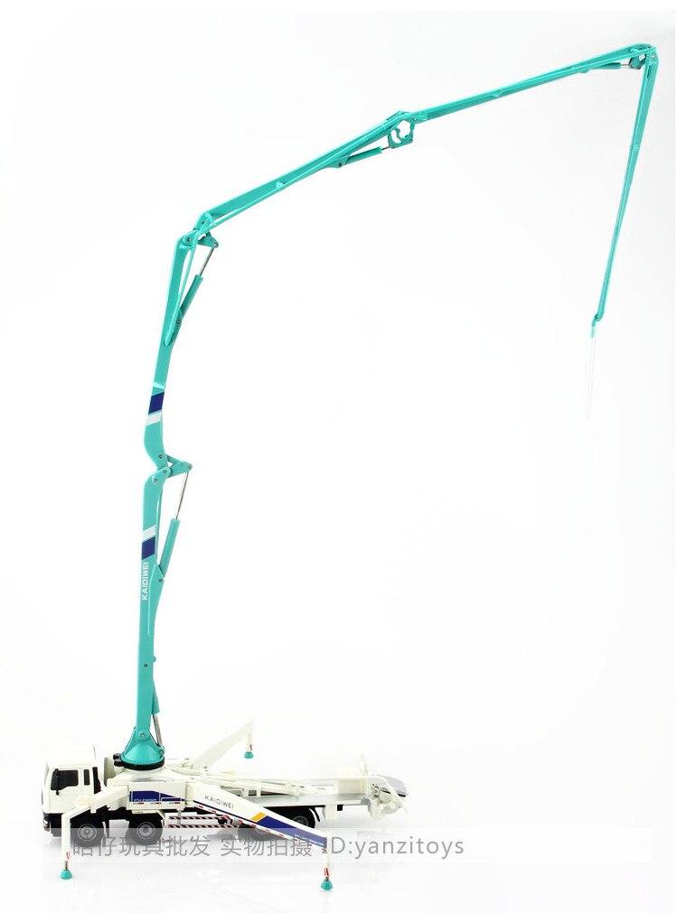 Kdidiwei бетононасос строительство грузовик вагон-роуд автомобиля 23 * 7.5 * 4.5 см 1:55 легкосплавные транспорт игрушки подарки модели коллекция