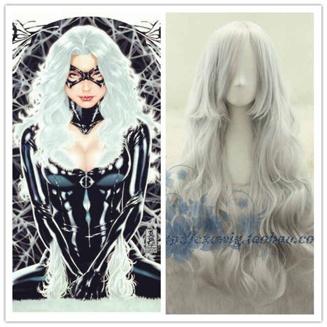 Movie X-men Storm Women Silver White Wig Ororo Munroe Cosplay Wigs Costumes  withe hair net fress 50fb52e0b