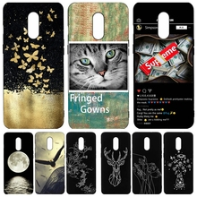 Fashion Pattern Painted Phone Case for One Plus 7 case coque Soft TPU Black Back Cover capa for One Plus 7 Pro cases Fundas