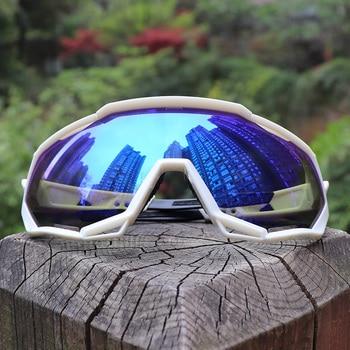 38c171773e Unisex S2 recubierto espejo bicicleta ciclismo gafas TR90 ciclismo gafas de sol  UV400 gafas de ciclismo