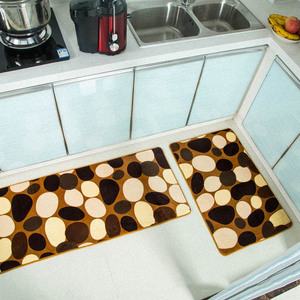 Image 3 - 2PCS ครัวโมเดิร์น doormat Anti SLIP KITCHEN พรมระเบียงห้องน้ำพรมชุดเสื่อดูดซับน้ำ tapete