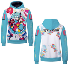 Fans Wear 2019 3D Men Hoodies Hatsune Miku Sweatshirt Anime Kagamine Hoodie Super Heroes Printed for Cosplay