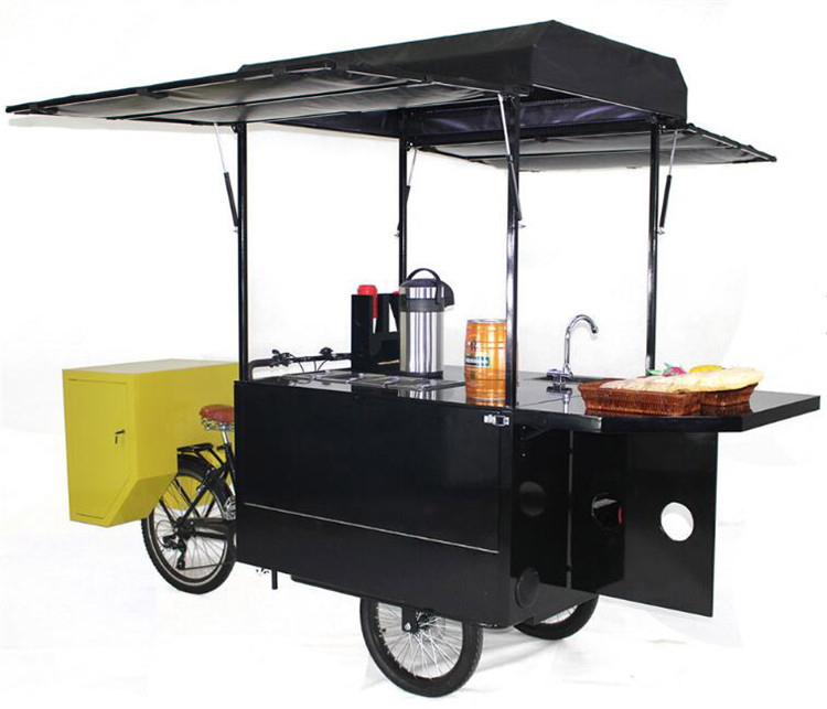 Home Appliances Fashion Food Truck Coffee Cart Food Vendor Bike For Fast Food