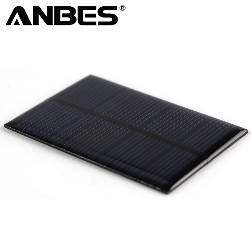 DC 5V 1.25W Mini Solar Panel Power Module Emergency Cell Phone Battery Charger