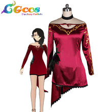 919f2c54e Free Shipping Cosplay Costume RWBY Antagonist Cinder Fall Retail/Wholesale  Halloween Christmas Party Uniform Any