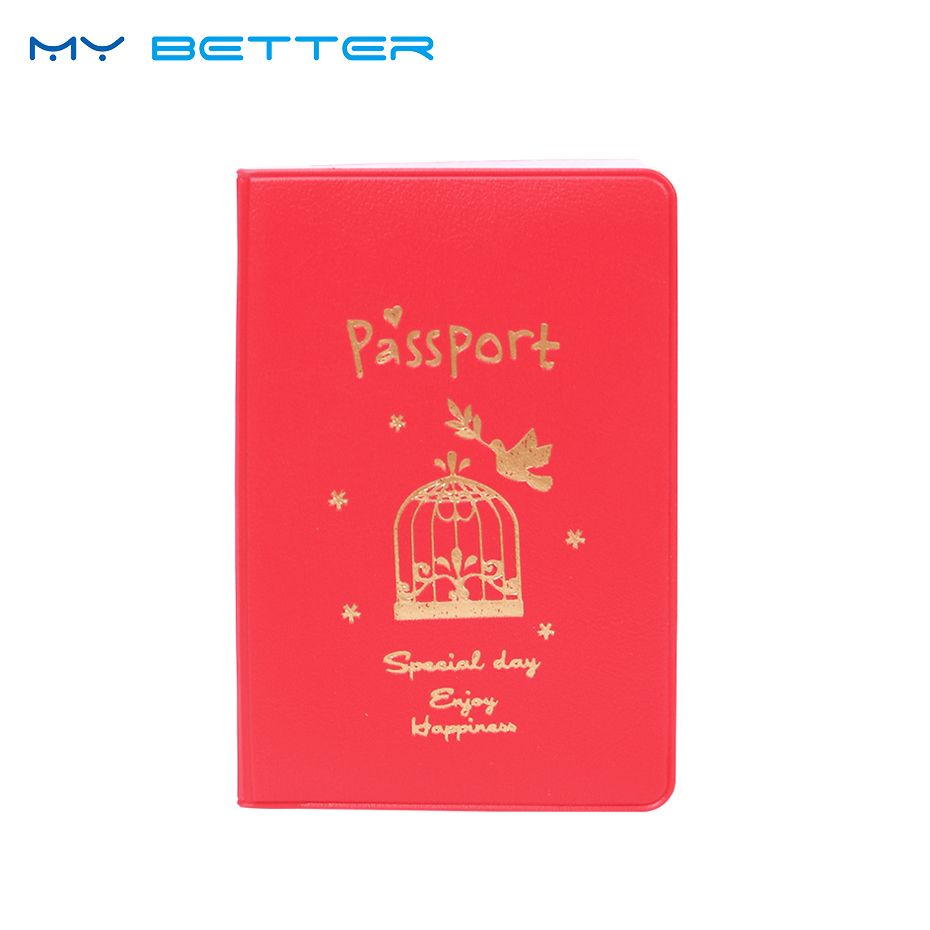 Simple Travel ID Card Holder Utility PU Leather Passport Holder Cover Case Protect Travel Pouch ID Card Case for Men Women pu leather rfid card case badge plastic id card holder for employee fair 10pcs lot