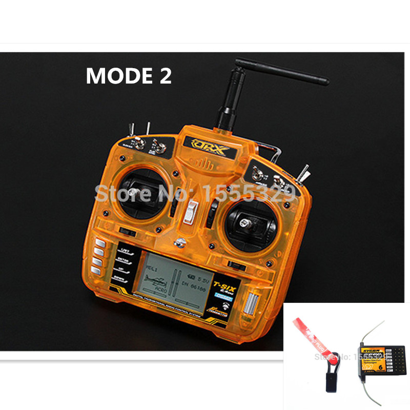 ORX Full Range 2 4GHz 6 CH Remote Controller Transmitter with S600 Receiver Surpass DX6I JR