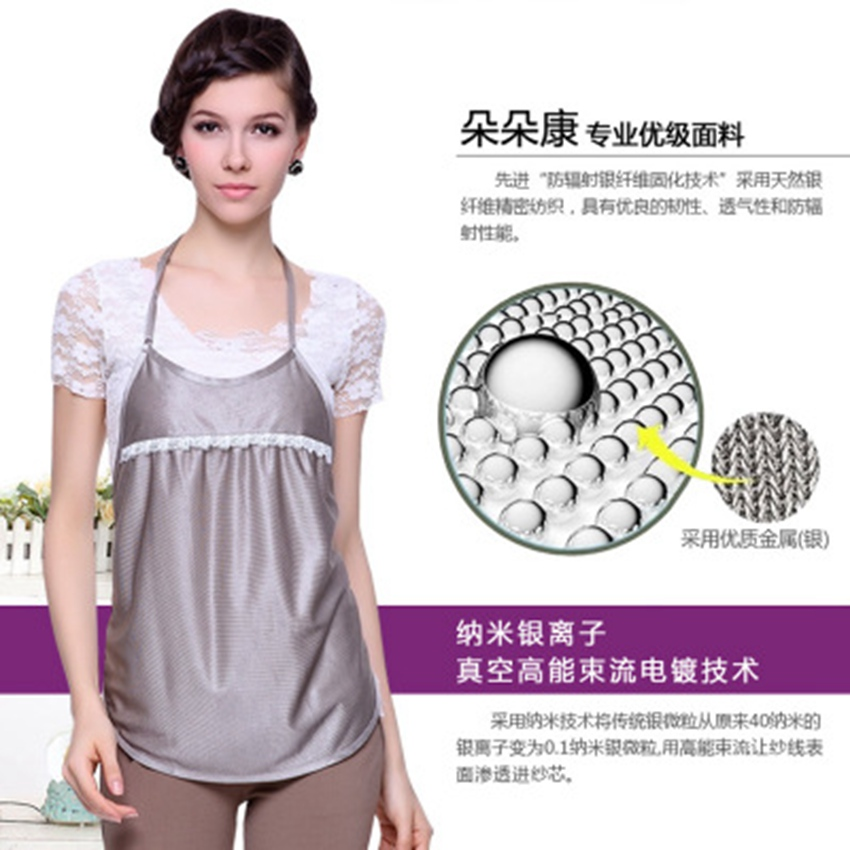 Pregnancy radiation protection clothing radiation suit maternity clothes pregnant women anti-radiation apron silver fiber clothePregnancy radiation protection clothing radiation suit maternity clothes pregnant women anti-radiation apron silver fiber clothe
