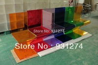 ONE LUX Colored Acrylic Z Chairs Plexiglass Dining Chair Perspex Event Wedding Party Chairs X Base