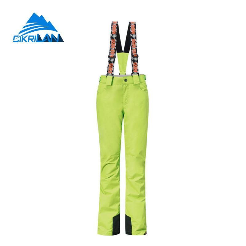 New Winter Outdoor Sport Climbing Hiking Trousers Windproof Waterproof Snowboard Ski Pants Women Pantalones Mujer Snow Overalls