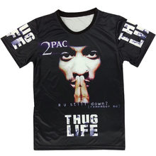 8d1a33bd Super Star Tupac 3D T Shirt Print 2pac Thug Life Classic Graphic Tees Men  Women Short