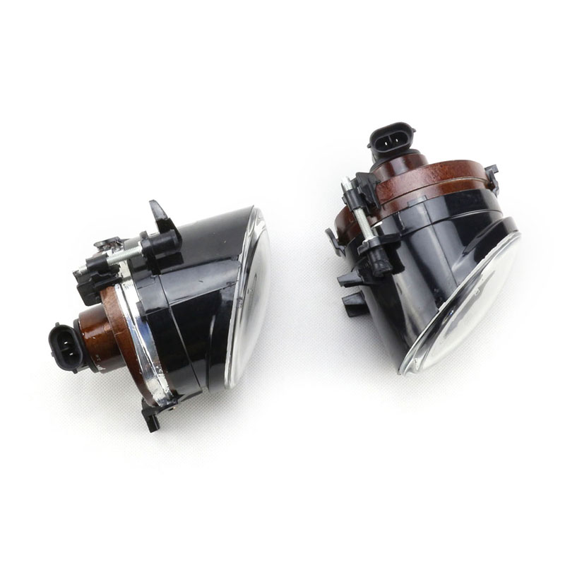 high quality 1Pair Front Bumper Convex Lens Driving Lamp Fog Lights for VW Golf GTI Jetta MK5