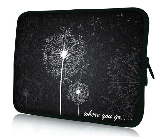 Free Shipping Dandelion 10 Laptop Bag Sleeve Case Pouch For 10.1 Samsung Galaxy Tab/Apple iPad 4 3 2 1 image