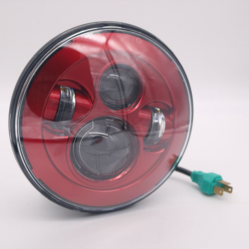 Hot Sale 7 Led Headlight For Harley Davidson Motorcycle Projector Daymaker Hid Led Light Bulb