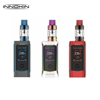 Original Innokin Proton Plex Kit 235W Proton Box Mod Electronic Cigarette Vape with 4ML PLEX Tank Plexus Scion Coil
