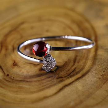 2018 Top Fashion Special Offer Lovers' Garnet Bangle Fashion Product S925 Thai Wholesale Both And Lovers Thailand Process