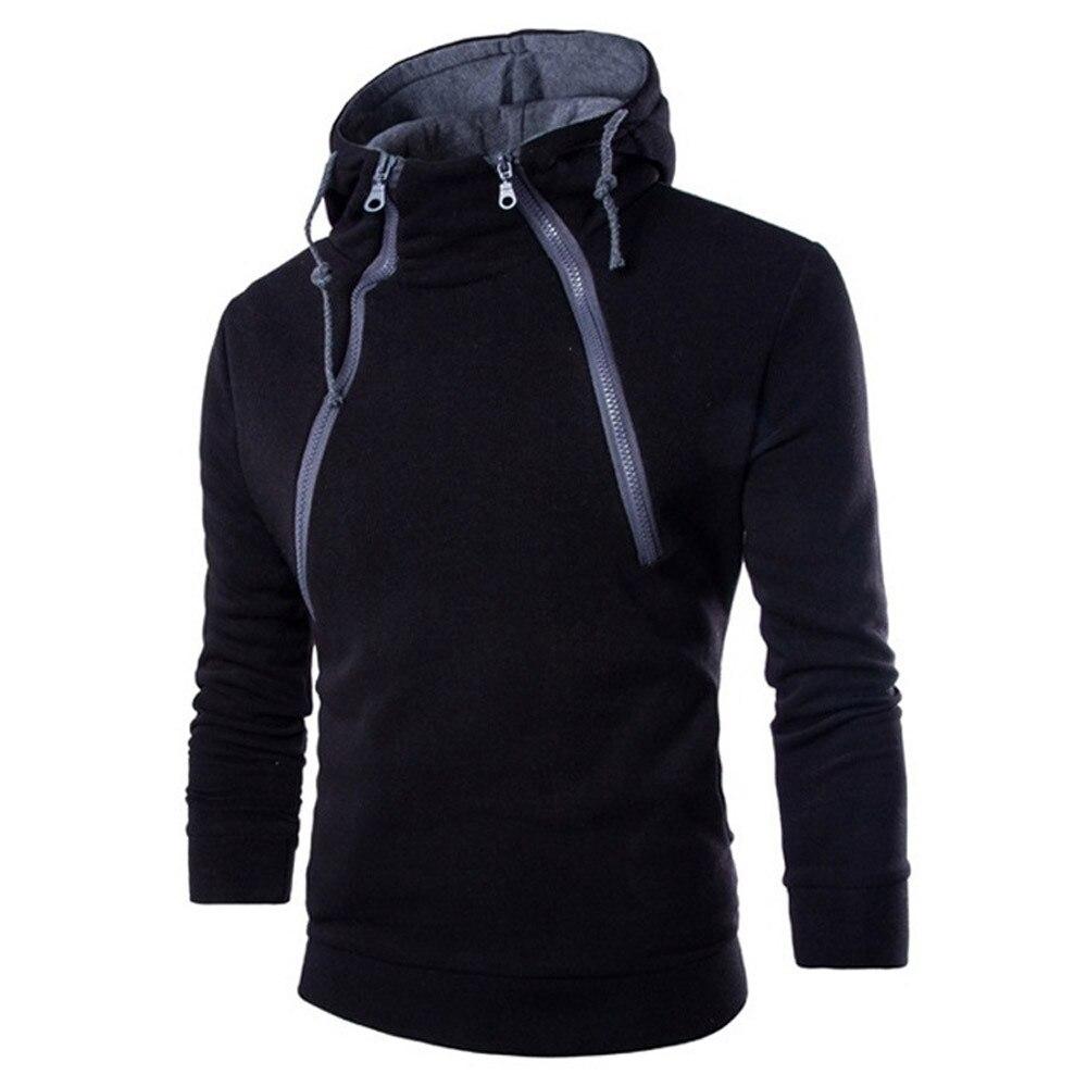 sweatshirt men 2018 hoodies brand male long sleeve patchwork hoodie zipper hoodie men white and black big size vetements