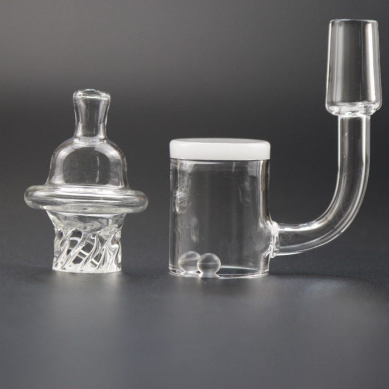 Image 5 - Opaque bottom 25mm XL Quartz Banger 10mm 14mm 18mm With spinning Carb Cap-in Tobacco Pipes & Accessories from Home & Garden