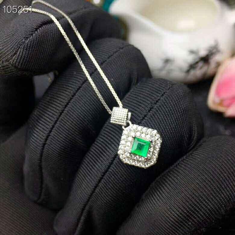 MeiBaPJ ธรรมชาติ Columbia Emerald อัญมณีชุดเครื่องประดับ 925 เงินสเตอร์ลิง 2 ชุดวิ่งสีเขียวหินเครื่องประดับสำหรับผู้หญิง