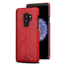 Pierre Cardin Vintage Genuine Leather Case for Samsung Galaxy S9 S9Plus