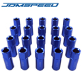 Xpower -20PC RACING FORGED ALUMINUM RACING WHEEL EXTENDED LUG NUT 12X1.5MM 60MM FOR CIVIC INTEGRA EG EK