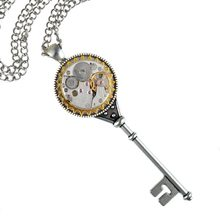 Steampunk Ювелирные Изделия Заявление Ключ-образный Старинные Кулон Ожерелье Длинный Свитер Цепи 80 см Модные Аксессуары Для Женщин Мужчин Подарки