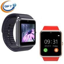 GFT gt08A freies verschiffen wearable gerät Sim-karte GSM GPRS SmartWatch Armband Uhr für Android Silber Bluetooth Wireless