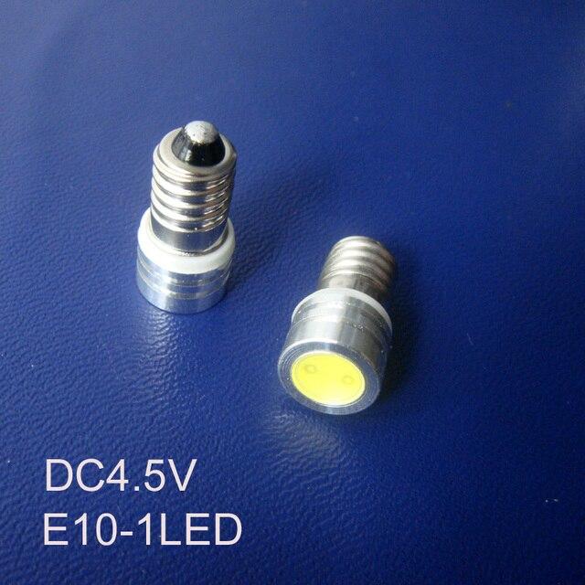 Haute qualité DC4.5V Led E10,E10 lumière 5V,E10 ampoule 4.5V,E10 lumière Led, Led 4.5V E10 lumière, E10 lampe, E10 4.5V, livraison gratuite 10 pc/lot