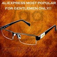 Leesbril = clara Vida marca = hombres titanio no esférico lentes recubiertos de 12 capas gafas de lectura + 1,0 + 1,5 + 2,0 + 2,5 + 3,0 + 3,5 + 4,0