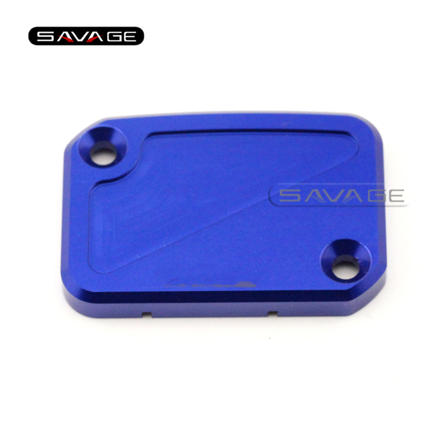 For YAMAHA YZF R125 YZF-R125 2008 2009 2010 2011 Blue Motorcycle Front Brake Master Cylinder Reservoir Cover Cap