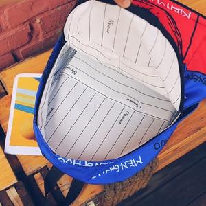 Image 4 - Menghuo Newest Women Backpacks 3D Printing Backpack Female Trendy Designer School Bags Teenagers Girls Men Travel Bag Mochilas
