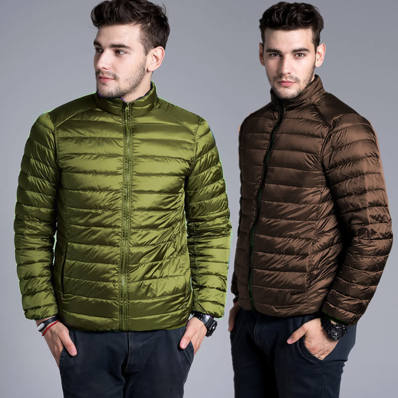 2018 Winter New Fashion Men Coats White Duck Down Men's Jackets ,overcoat,outwear,parka,trench S-XXXL