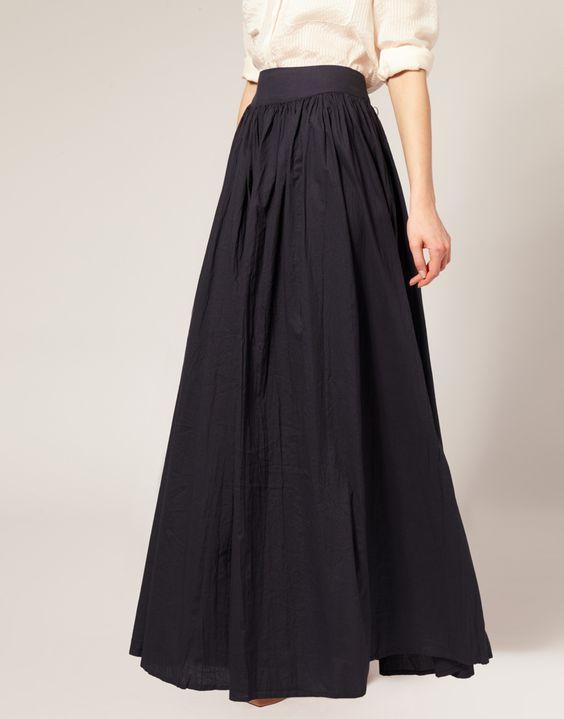 Aliexpress Com Buy Winter Skirt 2017 Black Floor Length