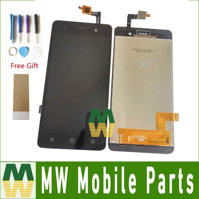 1 Pz/lotto Per BQ BQS-5020 BQS 5020 sciopero Display LCD + Touch Screen Montaggio Sostituzione Colore Nero con strumenti + nastro