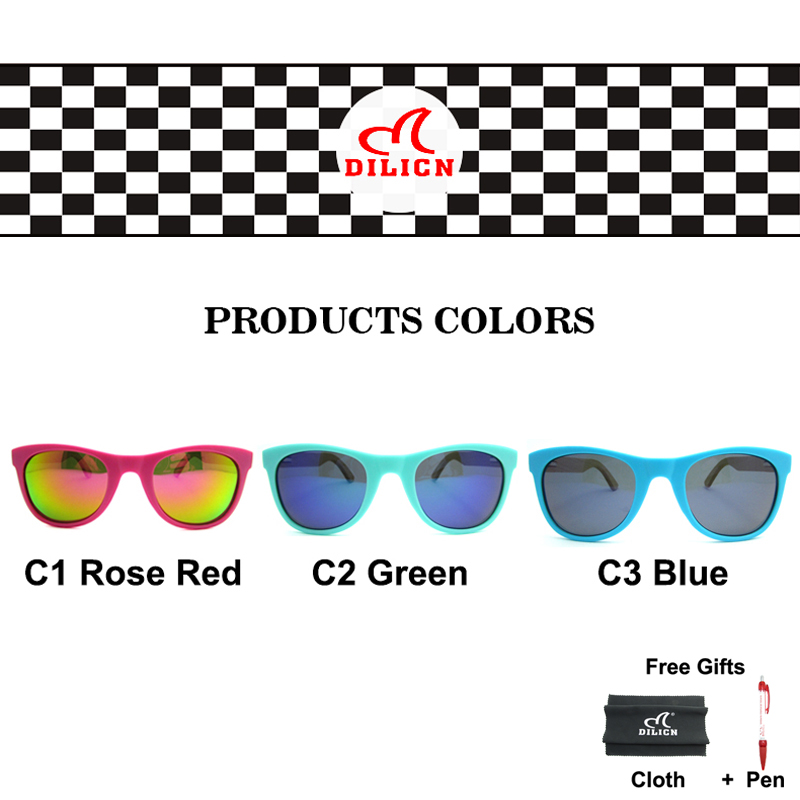 Hot Rays Children Real Bamboo Wood Kids Sunglasses Boys Girls Mirror - Apparel Accessories - Photo 6