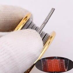 Xfkm 5 м/roll A1 Джаггернаут Сплавленный Clapton шахматном тайцзи провод для RDA РБА ввиду распылитель нагрева провода катушки инструмент