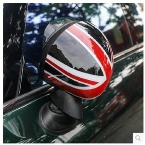 Image 3 - 외부 도어 백미러 장식 보호대 쉘 커버 하우징 미니 쿠퍼 용 s jcw f56 f55 자동차 스타일링 액세서리