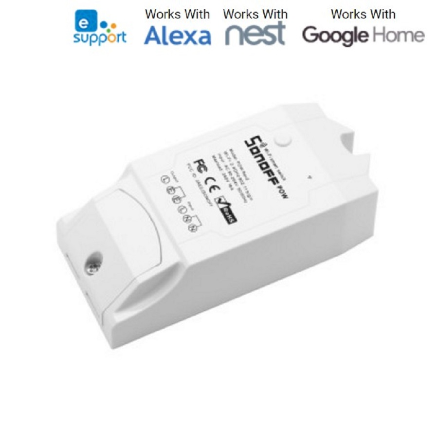 0d866bead3c Sonoff Pow R2 16A Wifi nutikas lüliti monitor Energiatarbimine Smart ...