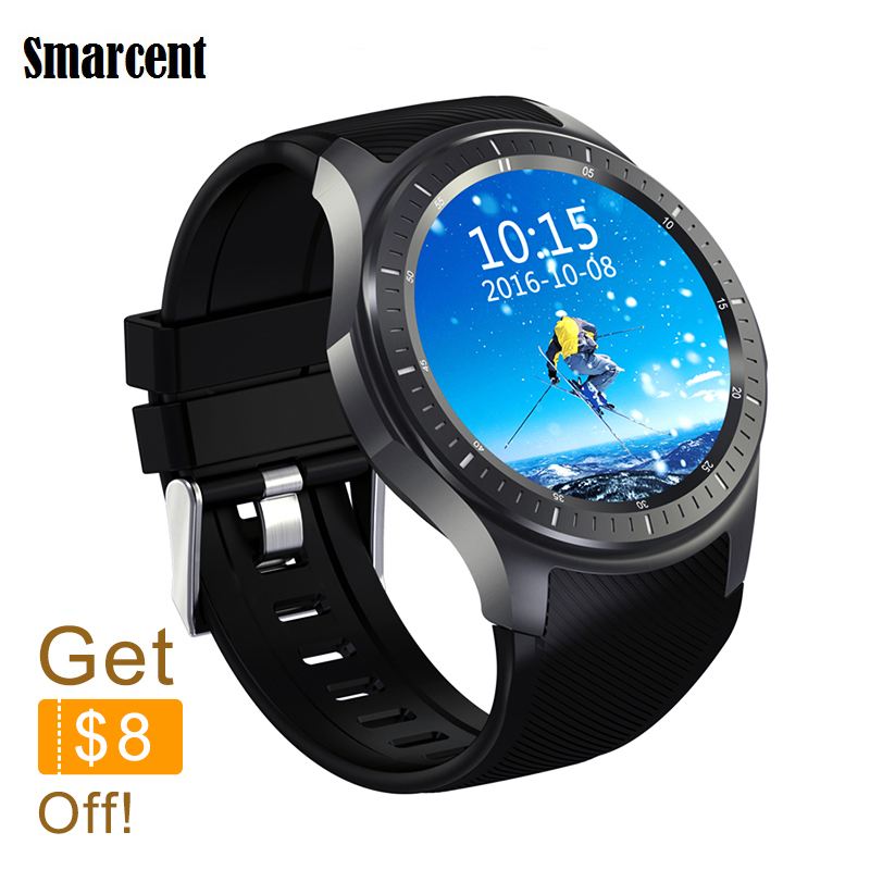 RU100 Quad core 512MB+8GB ROM Heart Rate Monitor smart Watch for Android 5.1 2G 3G WiFi GPS SIM Card Anti lost Google Passometer цена и фото