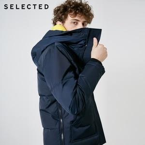 Image 2 - اختيار جديد سترة شتوية الرجال الجلد المدبوغ الرقبة سترة عادية قصيرة أسفل معطف الملابس S