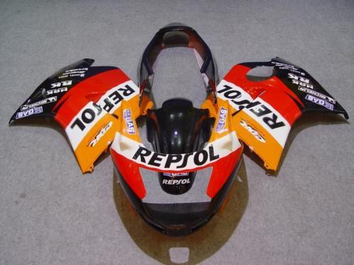ABS Orange red Fairing kit for HONDA CBR1100XX 97 98 99 00 01 02 03 CBR