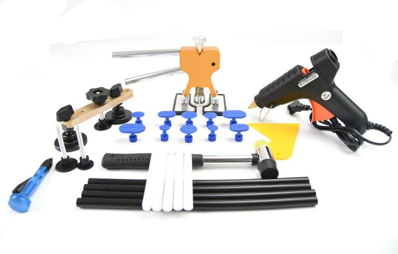 PDR Dent Repair Bridge PDR Tools Paintless Dent Repair Tools Dent Removal Dent Puller PDR Glue Tabs Glue Gun Hot Melt Glue Stick  цены