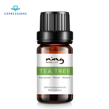 EXPRESSIONS 100 Australia Pure Tea Tree Essential Oil for Acne Treatment and Remove Whelk Shrink Pore