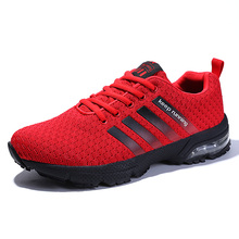 2019 New Lace Up Breathable Mesh Summer Men Casual Shoes Male Fashion Footwear platforms Walking Colorful dropshipping