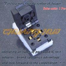 цена на IC TEST NEW QFN11T032-003 test socket QFN32 DFN32 WSON32 MLF32 socket Pitch=0.5mm size=5*5mm