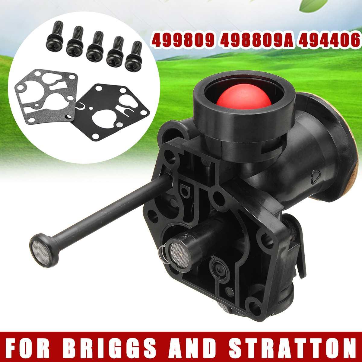 Grass Trimmer Carburetor Carb Assembly For Briggs And Stratton 499809 498809A 494406