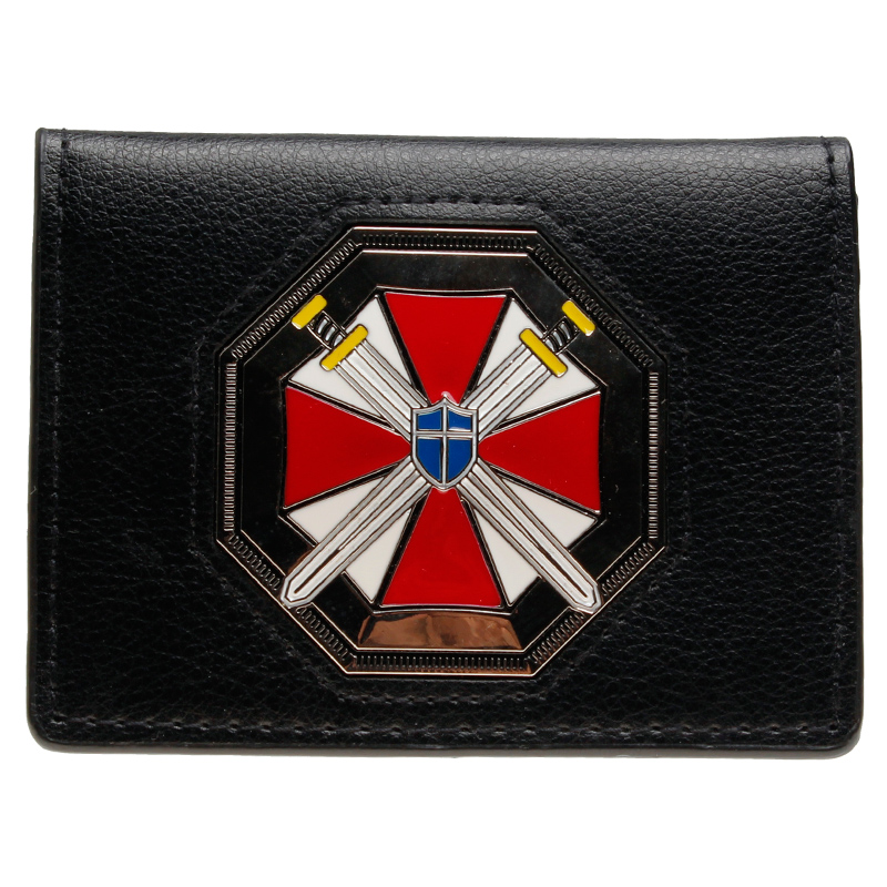 Resident Evil Umbrella Corporation Tri-fold Wallet  DFT-2028 resident evil umbrella corporation keychain action figure toys 2017 new resident evil umbrella corporation car key ring styling