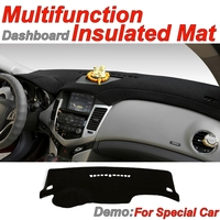Dashboard Mat Insulated Original Factory Shape pad Protection Cover Carpet Dashmat Special Model For Audi A8 A8L D4 4H 2010~2016
