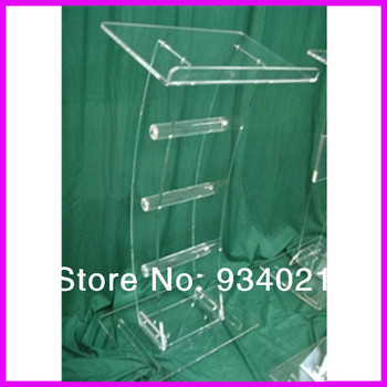 Acrylic Tabletop Lectern/Plexiglass Podiums church pulpit image